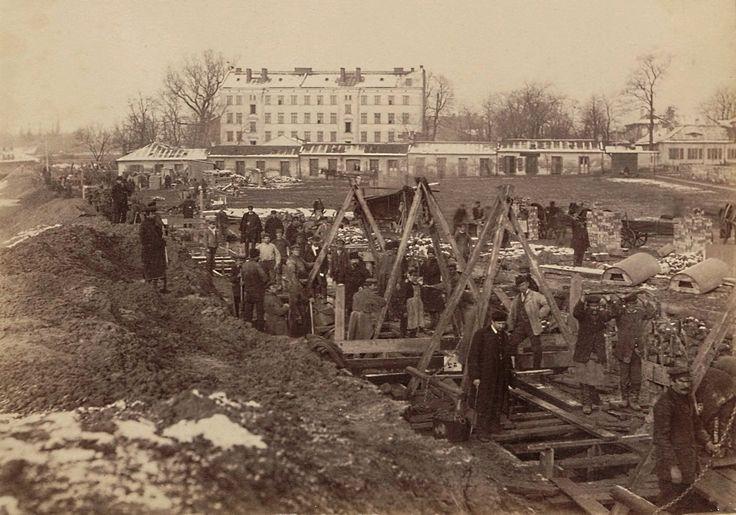 Warszawa 1888 (budowa Filtrów)