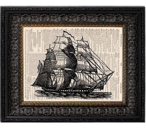 Pirate SHIP art print