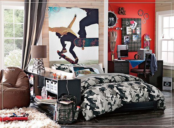 Modern Teenage Design is important and Stylish Teens Room Decorations. 17 Best images about Cool teen Boy room ideas on Pinterest   Boys