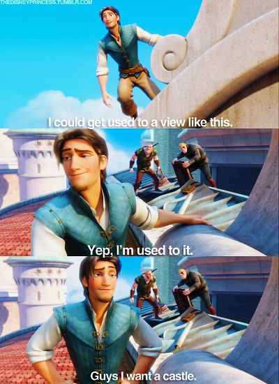 Flynn from Tangled! ...is it just me..or is he really attractive? ya know...if you got past the whole cartoon thing... :)