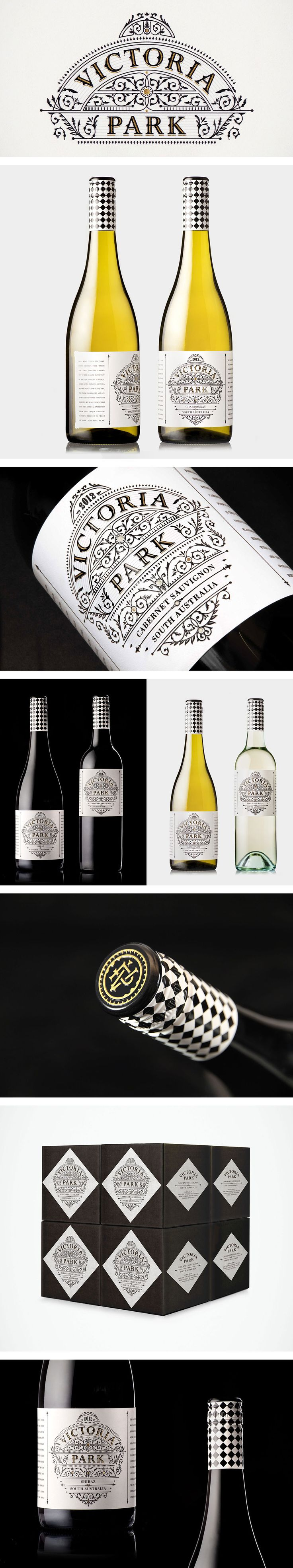 Victoria Park wine label and packaging #taninotanino #vinosmaximum #stilovino