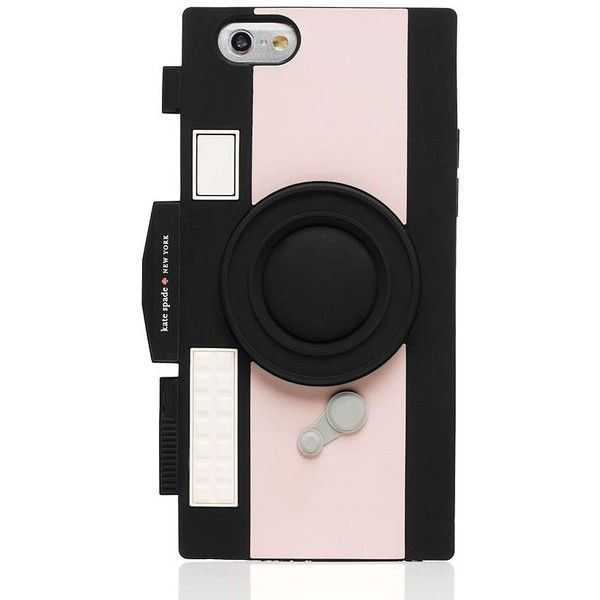 Kate Spade Camera Iphone 6 Case (£31) ❤ liked on Polyvore featuring accessories, tech accessories and kate spade