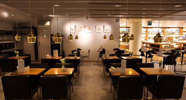 Café Aalto (traditional cafe in Akateeminen kirjakauppa bookstore), Pohjoisesplanadi 39