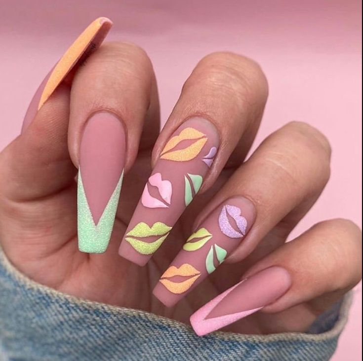 70+ Stunning Spring Nails 2020 Designs – The Glossychic – 70+ Stunning Spring Nails 2020 Designs – The Glossychic – #D…