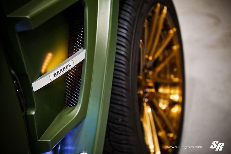 Military Green Brabus G63 6 175x175