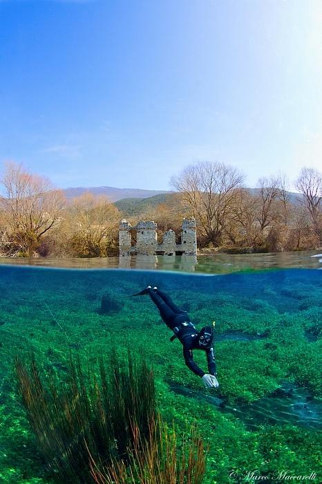 Half/Half 2 by silentworld Lago di Capodacqua 2012