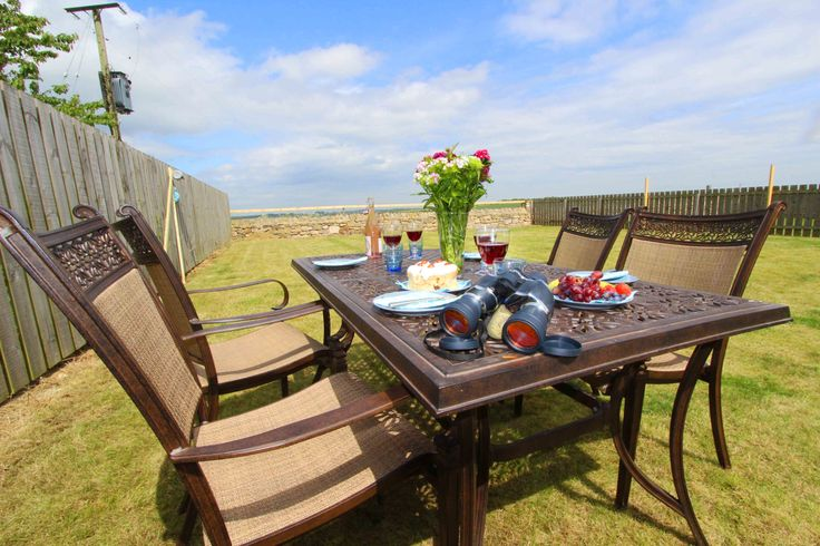 The Loft in #Beadnell, with fantastic views across open countryside of Bamburgh Castle. Pet friendly too!