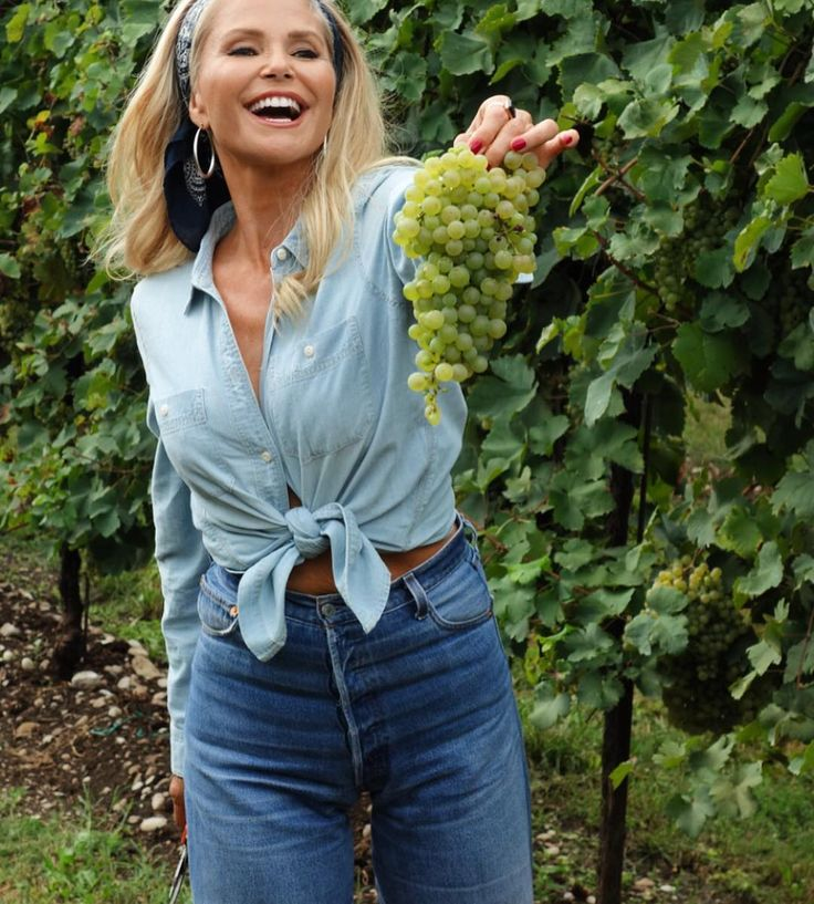 Christie Brinkley's healthy diet