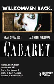 CABARET #broadway My dad saw the original revival production in the late 90s and now I'm trying to convince him to take me to the revival!