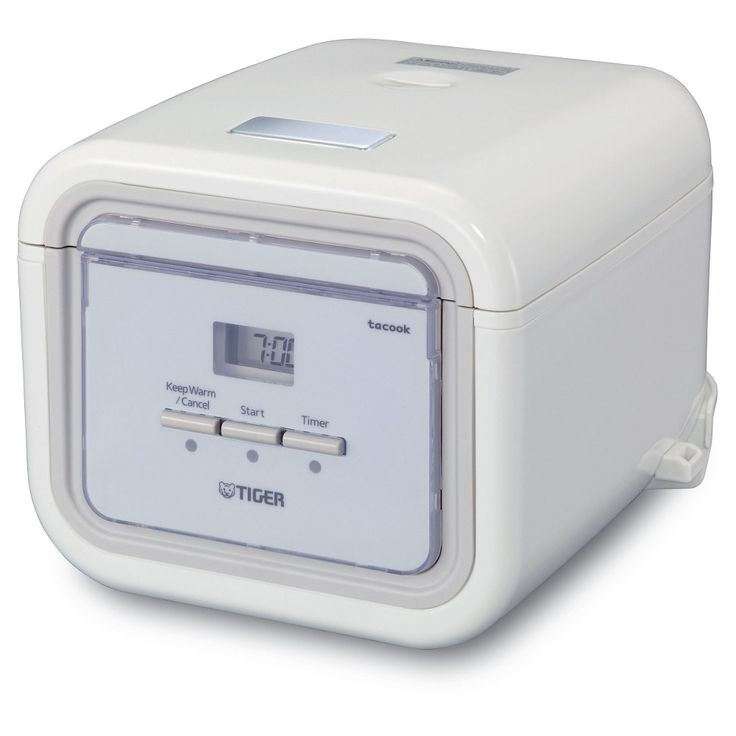 Tiger 3 Cup Electric Rice Cooker/Multi-Cooker,