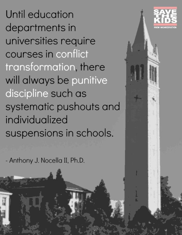 Quotes On Justice | ... » Quote Memes » School to Prison Pipeline, Punitive Justice Quote