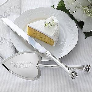 Wedding Gift Knife Penny : Personalized Wedding Cake Knife & Server Set #PMall #Wedding
