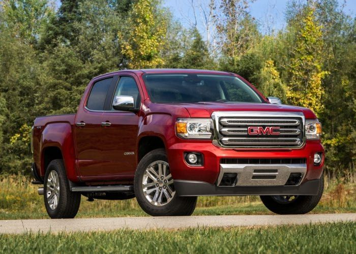 2020 Gmc Canyon First Review Gmc Canyon Canyon Diesel Cool Trucks