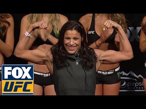 Valentina Shevchenko vs. Julianna Pena | Weigh-In | UFC ON FOX - YouTube