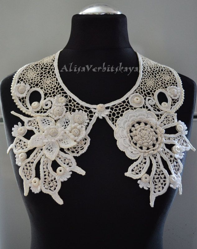 crochet collar by AlisaSonya