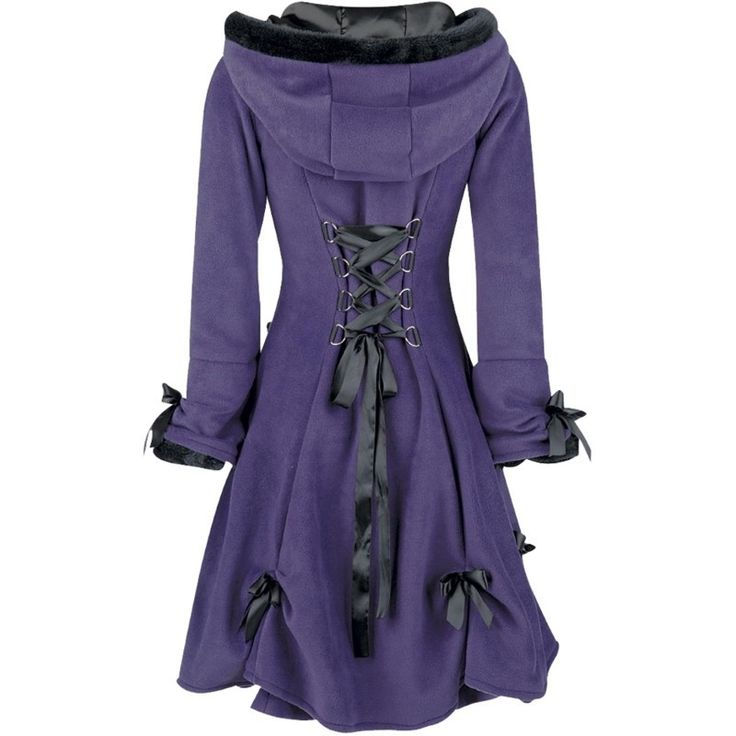 I need this bcuz purple and ribbons and corset << what more CAN you need?? Except perhaps a sturdy knife. In case of corset emergency.