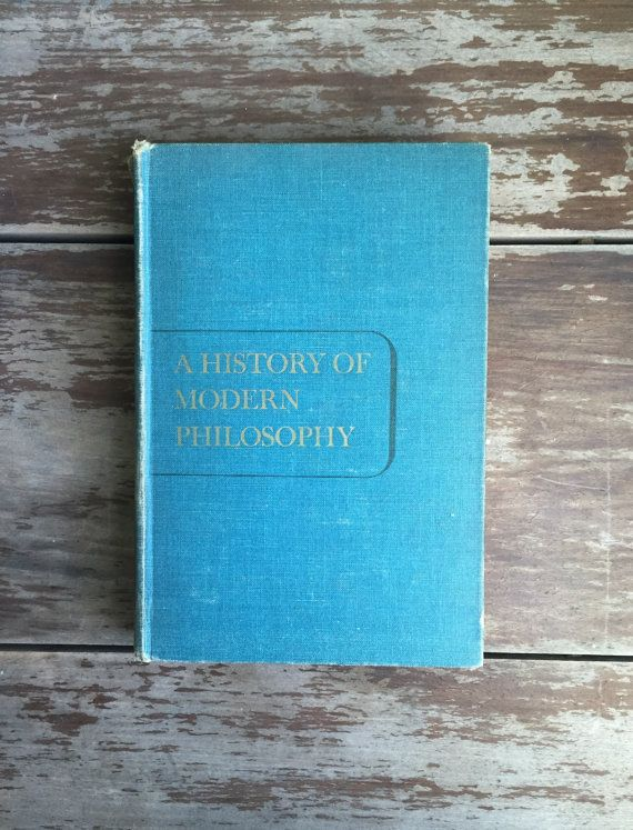 A History Of Modern #Philosophy by William Kelley Wright. Twelfth printing, 1954. A wonderful introductory book on philosophy containing excerpts from Francis Bacon, Hobbes,... #philosophy