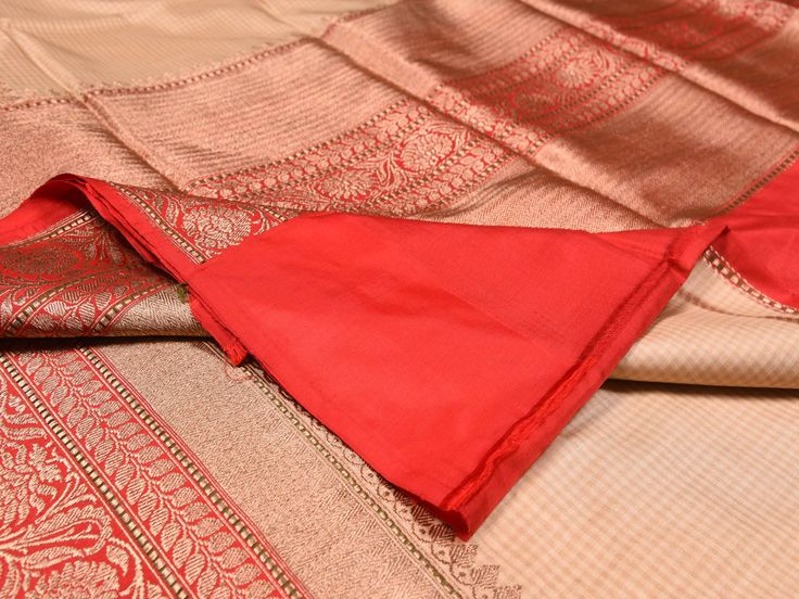 Banaras Sarees are considered one of finest sarees with gold or silver zari work, and colorful design makes it the saree for various occassions b0205a