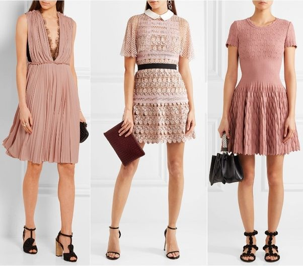 What shoe color goes best with a baby pink dress? Quora