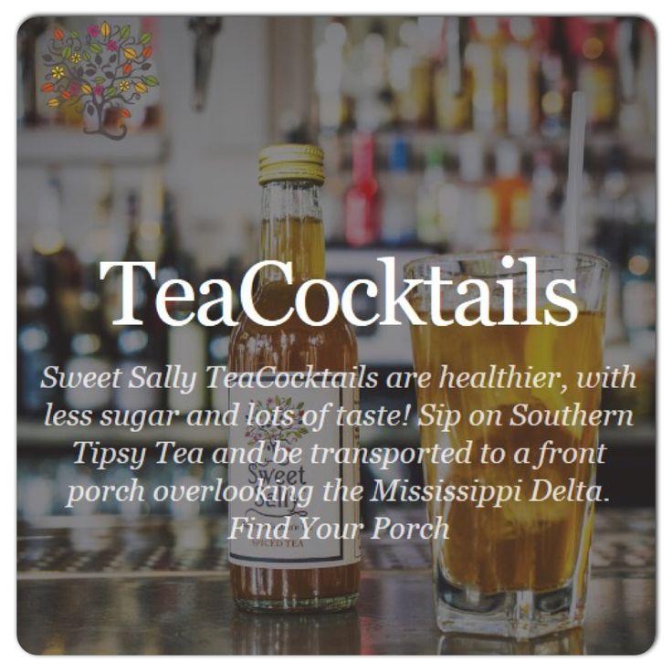 Check out our TeaCocktail Recipes on the Sweet Sally website. http://sweetsallytea.com/teacocktails/  #southernicedtea #perfectmixer #sweetsallytea #london