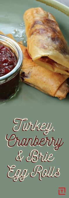 Everyone loves the flavors of Thanksgiving, but cooking a whole damn spread for yourself is tons of work. Maybe just order Chinese food instead? But then there's no turkey and cranberry sauce! Luckily there's a third path: these turkey-cranberry-Brie egg rolls from Twisted that package all the flavor of a full-on Turkey Day feast into a convenient fried bundle that's easier to put together than you'd think.
