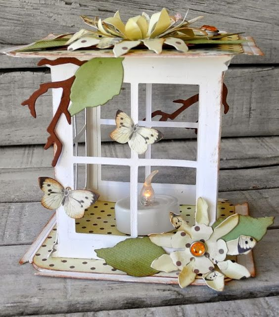 90 best Sizzix window images on Pinterest Window cards Cards
