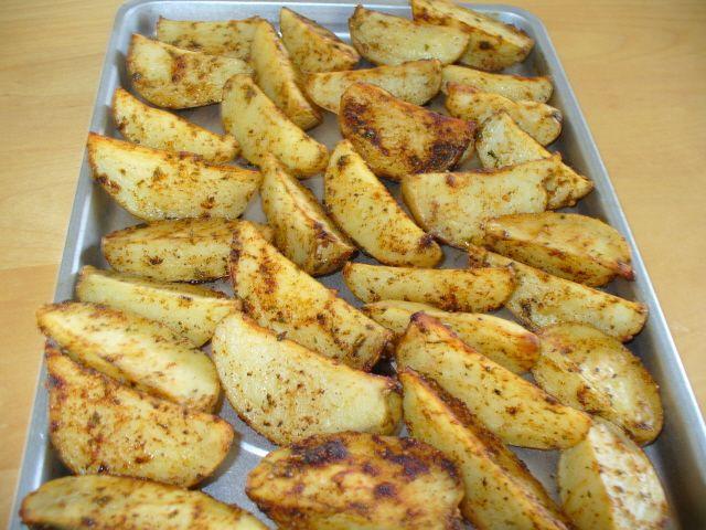 Patates grecques succulentes