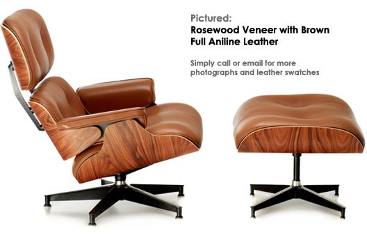 my favorite color of Eames chair, followed by black leather/ light brown wood