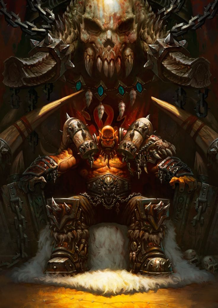 Garrosh Hellscream - Characters & Art - Hearthstone: Heroes of Warcraft