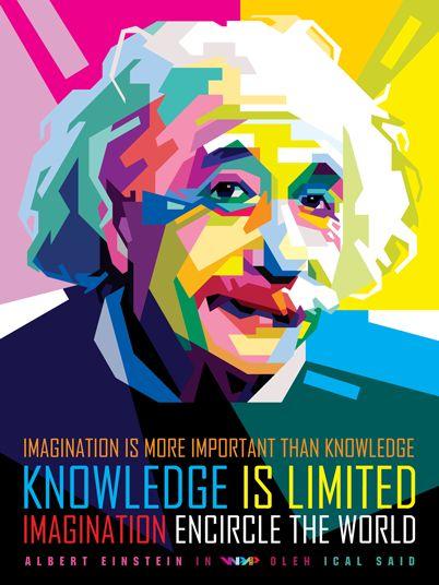 Einstein in WPAP by icalsaid.deviantart.com on @deviantART