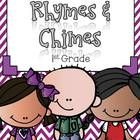 Rhymes and Chimes to go with each weekly phonics skill in the Macmillan Treasures reading curriculum.  Each poem is typed up and has the instuction...