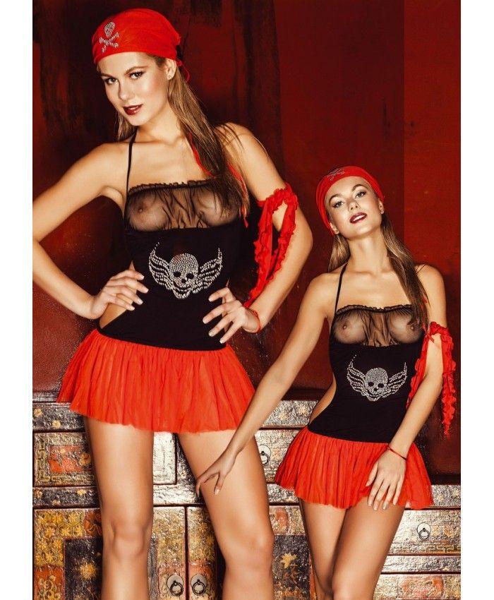 Elawin 2910 Fantazi Korsan Kadın Kostüm