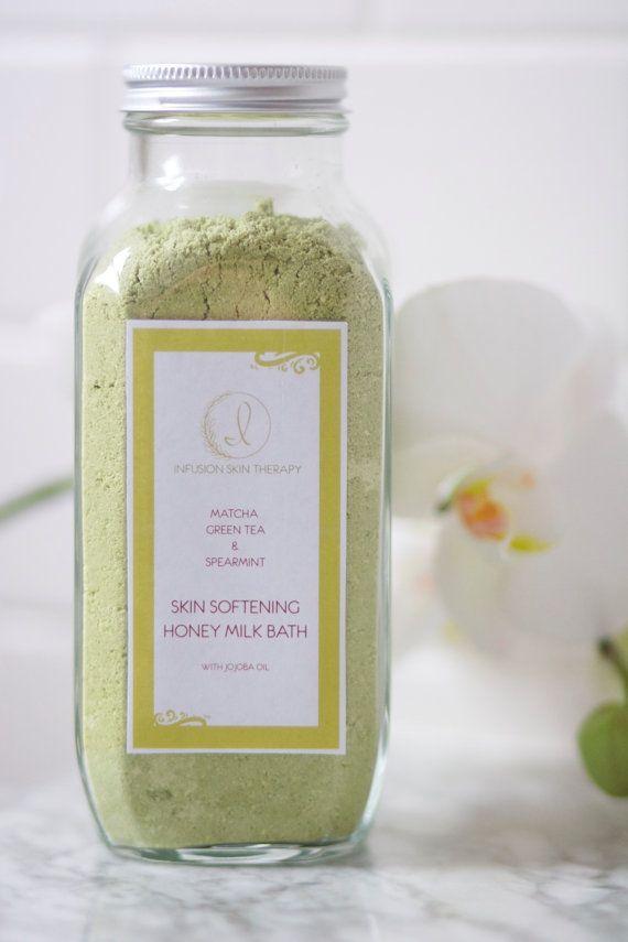 Matcha Green Tea & Spearmint Honey Milk Bath