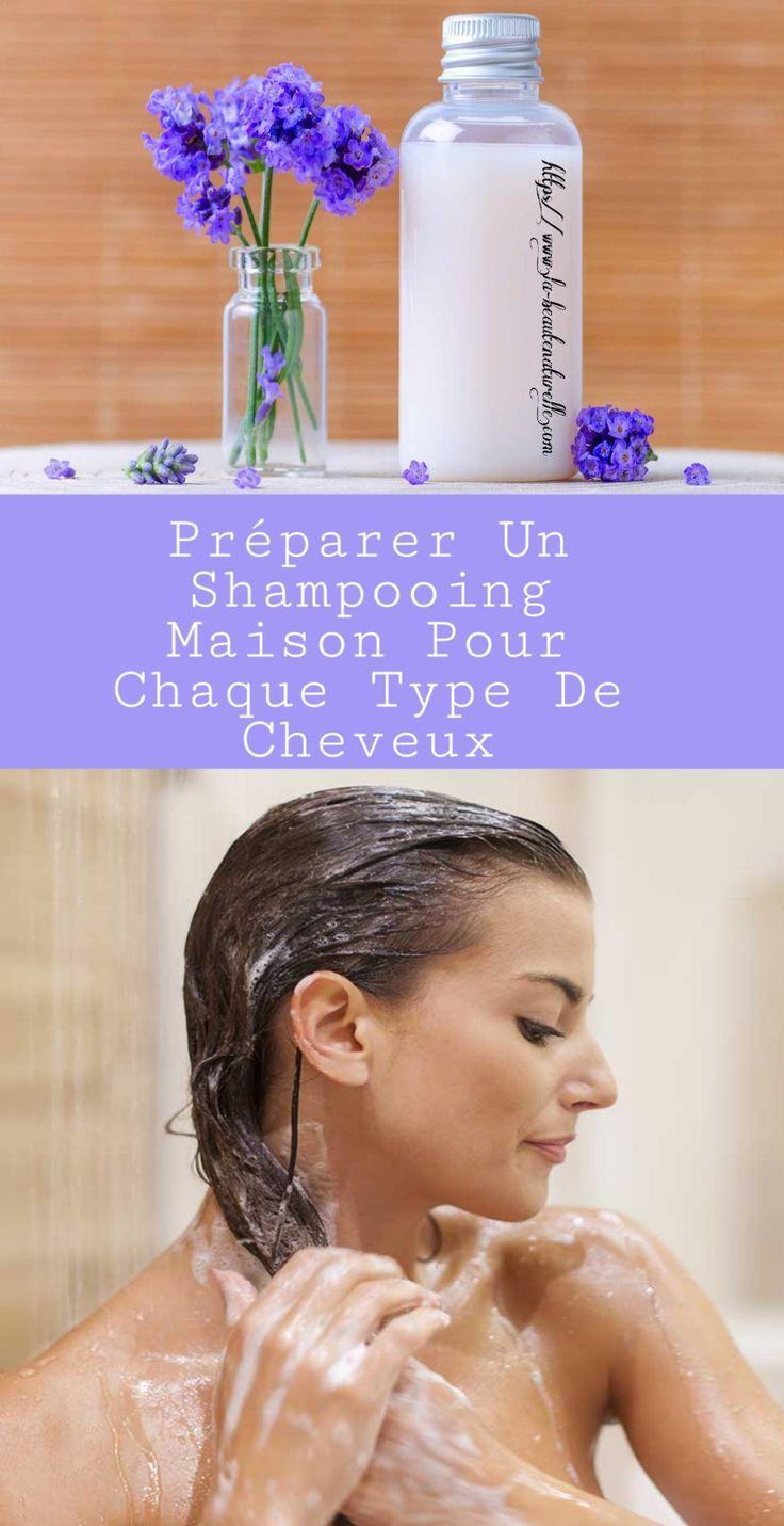 Préparer un shampooing maison pour chaque type de cheveux