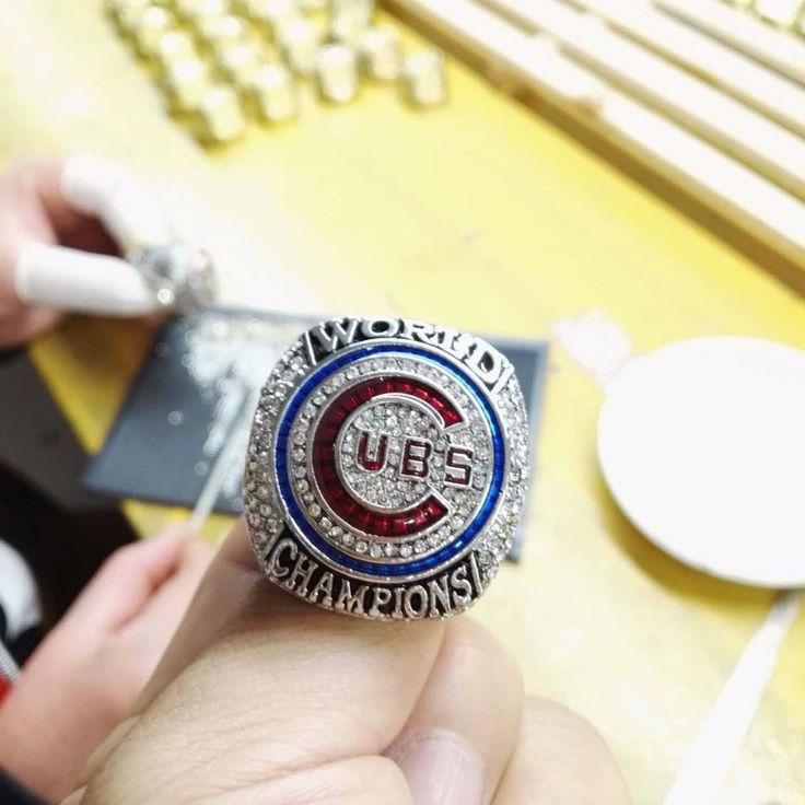 New to ReShop Store 2016 Chicago Cubs... see it here http://www.reshopstore.com/products/2016-chicago-cubs-world-series-championship-ring-size-6-15-for-fans?utm_campaign=social_autopilot&utm_source=pin&utm_medium=pin