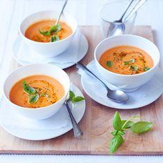 Recept - Italiaanse tomatensoep met mascarpone - Allerhande