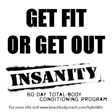 Shaun T Insanity Workout Results - Fit Test #1