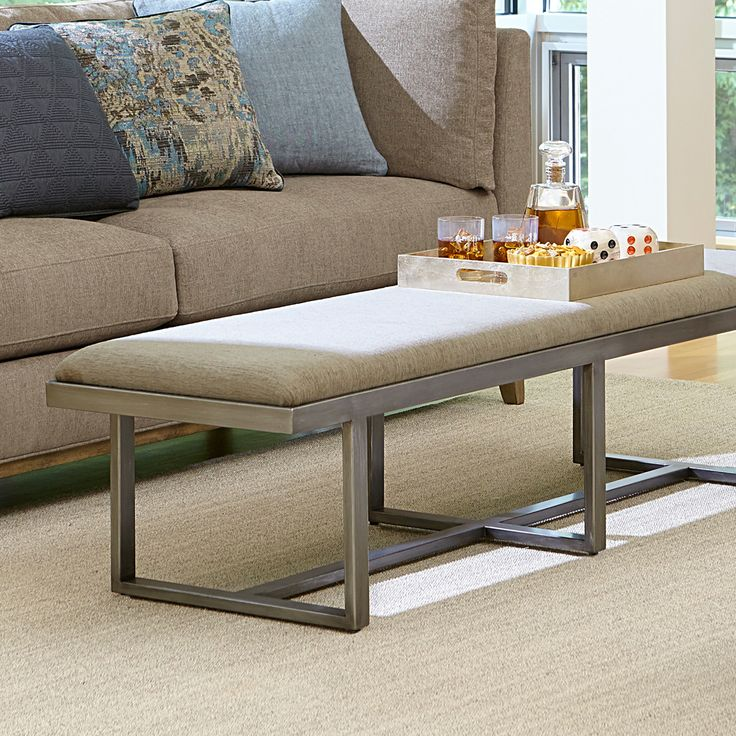 Sleekly sophisticated, my Naxera Contemporary Bench makes an ideal addition to a living space or bedroom, featuring a modern silver base and tailored upholstery. http://www.maxsparrow.com.au/products/naxera-contemporary-bench