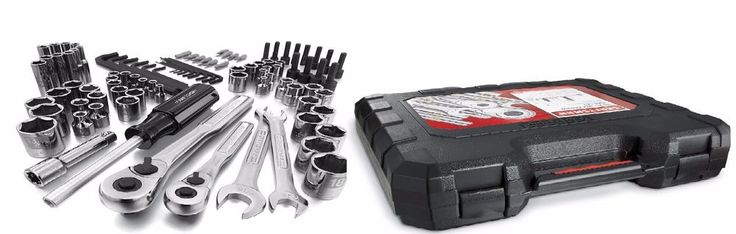 Craftsman 94 pc. Easy-To-Read Mechanics Tool Set Free Shipping New #Craftsman