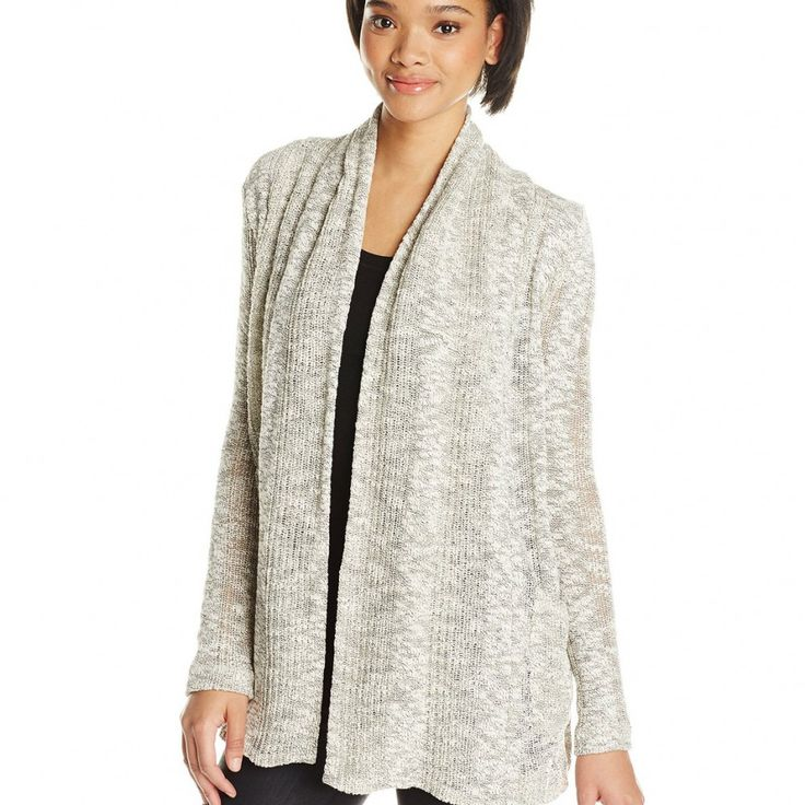 SPLENDID WOMEN'S SEASIDE MESH LOOSE KNIT CARDIGAN WITH POCKET