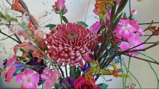 Bloem en vaas inspiratie - www.bloemenvanloes.nl