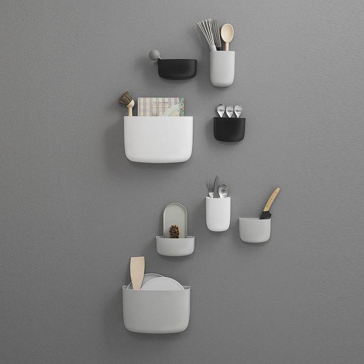 top3 by design - Normann Copenhagen - pocket organiser 3 white
