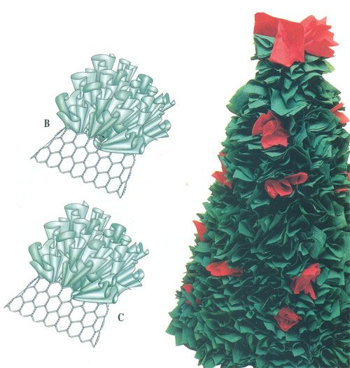como hacer un arbol de navidad original