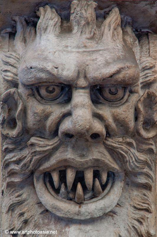 Gargoyles in Turin (Italy )