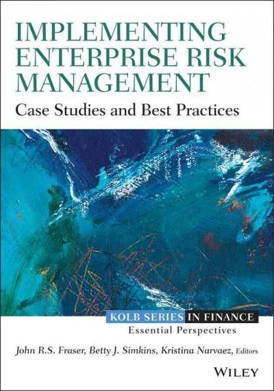 Best 25 risk management pdf ideas on pinterest financial risk implementing enterprise risk management case studies and best practices fandeluxe Choice Image