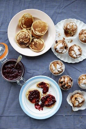 Scotch pancakes and raisin bun recipes your kids can make | King of puddings | Life and style | The Guardian