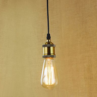 Pendant+Lights+Traditional/Classic/Vintage/Retro/Country+Study+Room/Office/Hallway/Garage+Metal+–+USD+$+25.59