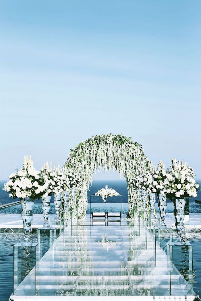 Photographer: Axioo via The Wedding Scoop; Indonesia's luxurious island Bali steals a spot on our list of Top 15 Destination Wedding Locations with its pristine waters and luxury resorts.