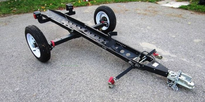 how to build a pull behind trailer for motorcycle