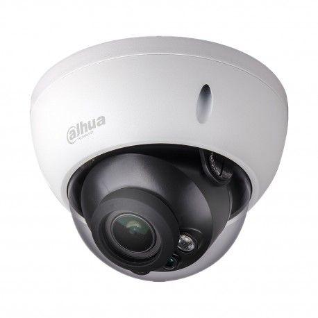 """Мультистандартная купольная видеокамера в антивандальном металлическом корпусе. Технологии: HDCVI, AHD, HD-TVI, аналоговая. Матрица: 1/2,7"""" CMOS. Разрешение: 1920x1080 пикс. (HDCVI/AHD-H/HD-TVI), 1300 ТВЛ (в режиме аналога). Фокусное расстояние: 2,7-12 мм (угол обзора - 99°~37°). Дальность ИК подсветки: до 30 метров. Индекс защиты IP67. Ударопрочность: IK10. Молниезащита: 4000 В."""
